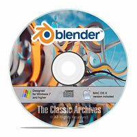 Blender, 3d Graphic Design, Animation, Video Game Creation Software, Win Mac F26