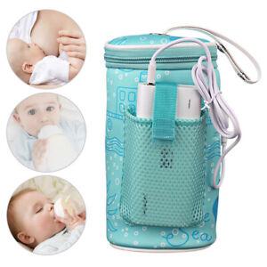 Flaschenwärmer Babynahrung Babykostwärmer Baby USB Flaschen Wärmer für Auto DE