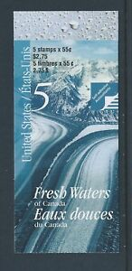 Canada-Booklet-2000-Fresh-Waters-of-Canada-BK228b-MNH-Free-Shipping