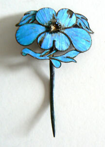 Qing-Dynasty-Kingfisher-Feather-Hair-Pin-Antique-Chinese-Ca-1850-Tian-tsui