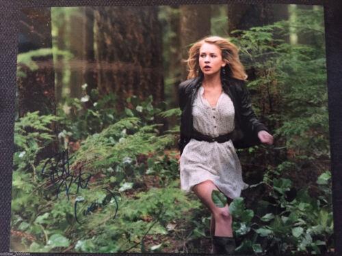 Britt Robertson Secret Circle Autographed Signed 11x14 Photo COA #1
