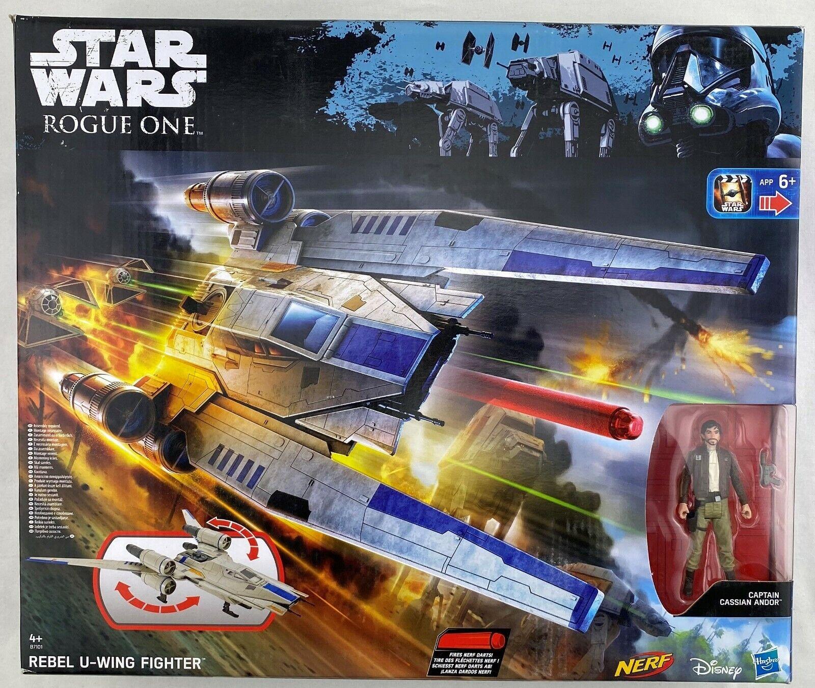 estrella guerras HASBRO Rogue One UWing combatiente dei ribelli con personaggio azione