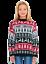 Nouveau-Enfants-Garcons-Filles-de-Noel-Noel-Hiver-Pull-Sweater-Tricot-Retro miniature 7