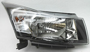 Headlight For 2011-2015 Chevy Cruze Right w// gray signal lamp lens