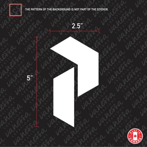 2x PEAK PERFORMANCE  sticker vinyl decal