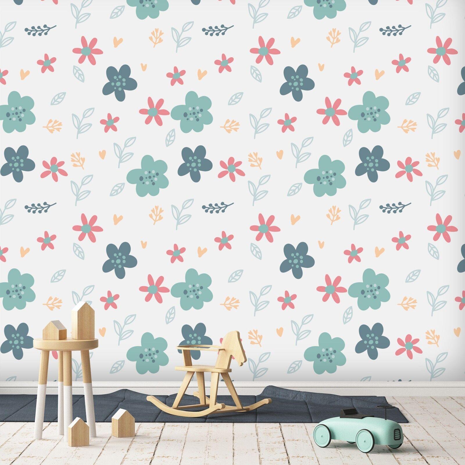 3D Blumen Kunst 856 Tapete Wandgemälde Tapete Tapeten Bild Familie DE Sidney