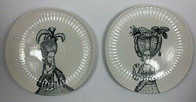 """1 Anthropologie Balducci Ladies in Waiting Marie Antoinette Dinner Plate 10.5/"""""""