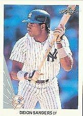1990 Leaf Deion Sanders 359 Baseball Card