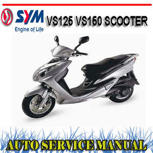 Sym orbit 125 factory workshop service repair manual download man.