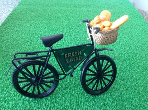 Bicicleta de entrega de panadería pan 12TH Escala Hecho a Mano