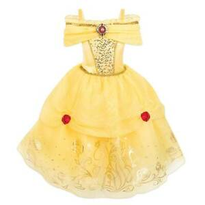 NWT Disney Store 5//6 7//8 9//10 BELLE Costume Girls Halloween Dressup NEW