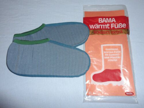 BAMA Gr.41 Stiefelsocken Haarsocken Boot Sokkets Kälteschutz Gummistiefel BW