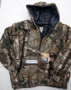 Carhartt Avondale 3 Season Quilt Lined Camo Sweatshirt [RM1-2276] READY TO SHIP