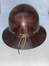 Vintage Msa Skullgard Hard Hat Mine Safety Helmet Full Brim