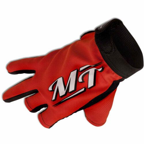 MT MAGIC TROUT Gant-stretch rouge