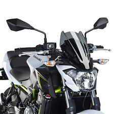 Item 1 Kawasaki Z 650 2017 2018 Puig Double Bubble Airflow Wind Screen Dark Tint