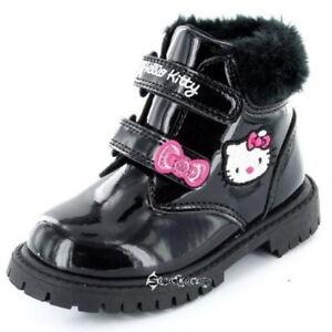 Girls Hello Kitty Tree Keeper Winter Boots Shoe Sizes 4-10
