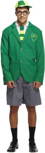 Men/'s School Boy Outfit Fancy Dress Costume Uniform Blazer Stag Do