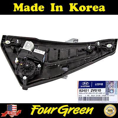 GENUINE Power Window Regulator FRONT LEFT for 12-17 Hyundai Veloster 824012V010
