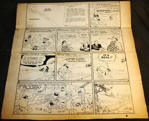 Li'l Abner Sunday Strip Other Original Comic Art 9/8/1940 Signed Art By Al Capp