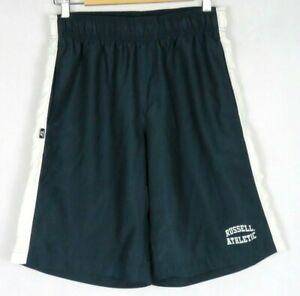 Russell-Athletic-Mens-Navy-Blue-Shorts-Size-S