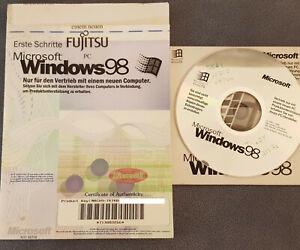 Microsoft Windows 98 - Deutsch- inkl. Mwst