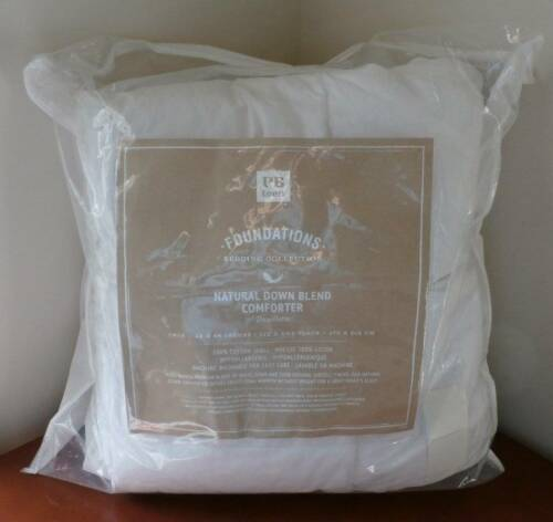 Pottery Barn Teen Natural Down Blend Bedding Comforter~Twin