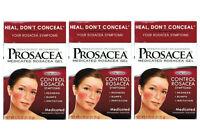 3 Pack Prosacea Medicated Rosacea Topical Gel 0.75 Oz (072959080211)