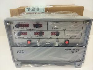 Details about NEW ABB SWITCHGEAR SOLID STATE POWER SHIELD TRIP UNIT  609905-T501 SS4
