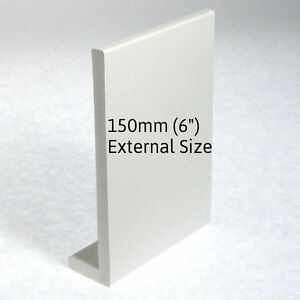 Details about UPVC PVC WHITE PLASTIC FASCIA BOARD WINDOW CILL SILL 150mm 6