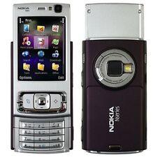 Nokia  N95 - Deep Plum (Unlocked) WiFi 3G GPS 5MP CELL PHONE Free Shipping
