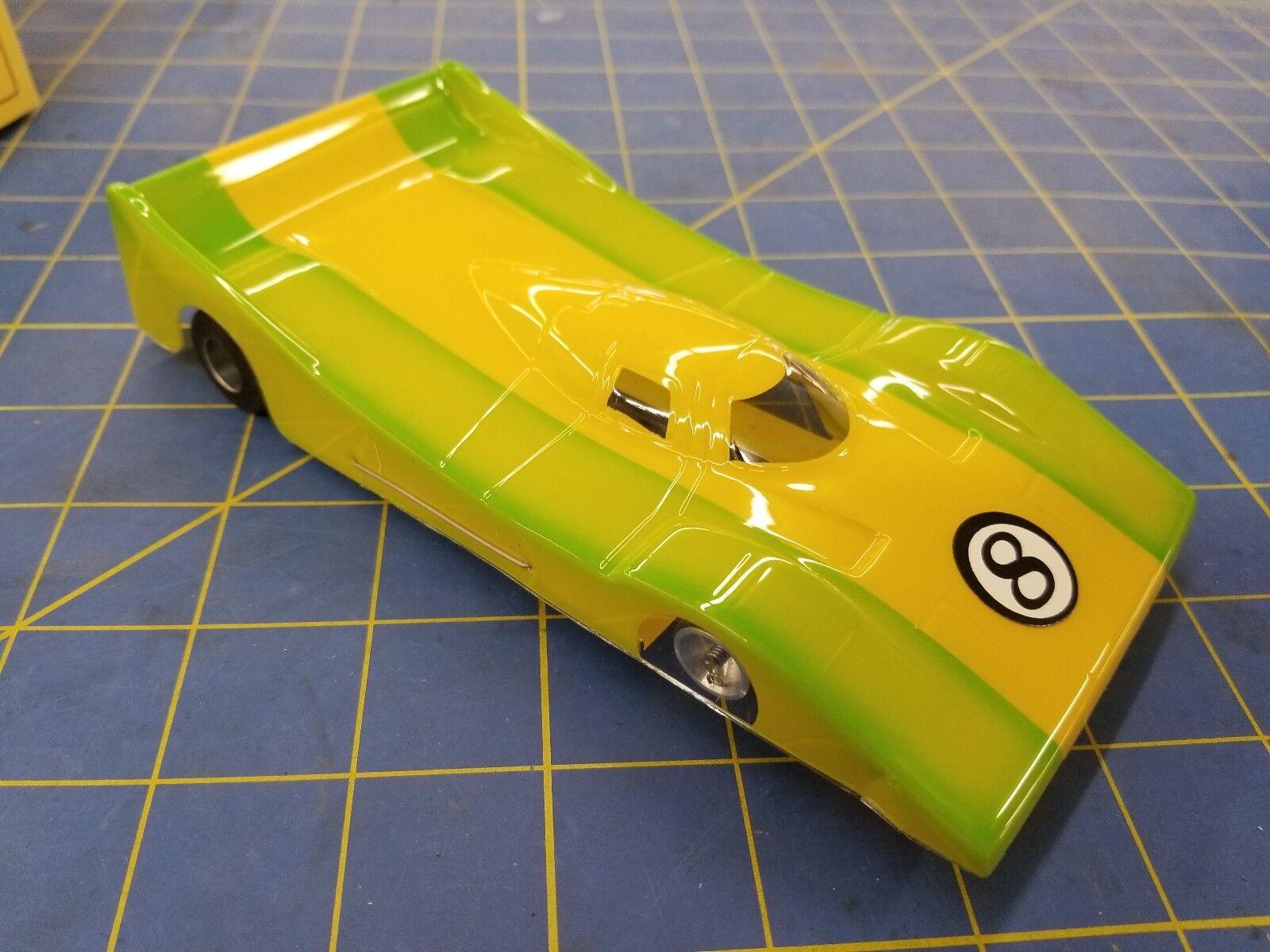 Champion Turbo Flex 4  NISSAN GTP verde Amarillo  24 desde mediados de América
