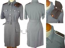 DDR NVA Uniform Kleid Frau Damen Soldat + Mütze Damenkleid Uniformkleid Stasi