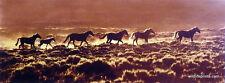 Claude Steelman Red Desert Sunrise Horse Print