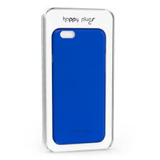 Happy Plugs iPhone 6S/6 Ultra Thin Slim Case Cover Skin & Screen Protector Blue