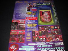 DISEMBODIED deviant psychotic demented THE MOTHER OF ALL EVIL Promo Poster Ad