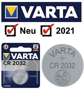 VARTA CR2032 DL2032 6032 Batterien Knopfzellen -->Neue Produktion aus 2021