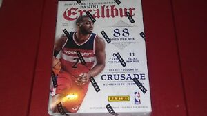 2016-17-PANINI-EXCALIBUR-Basketball-11-pack-Blast-Box-Rare-Kaboom-amp-RCs-Posible