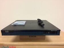 Cisco CCR103612G4SEM 2-Port Gigabit Wired Router (CISCO2901/K9)