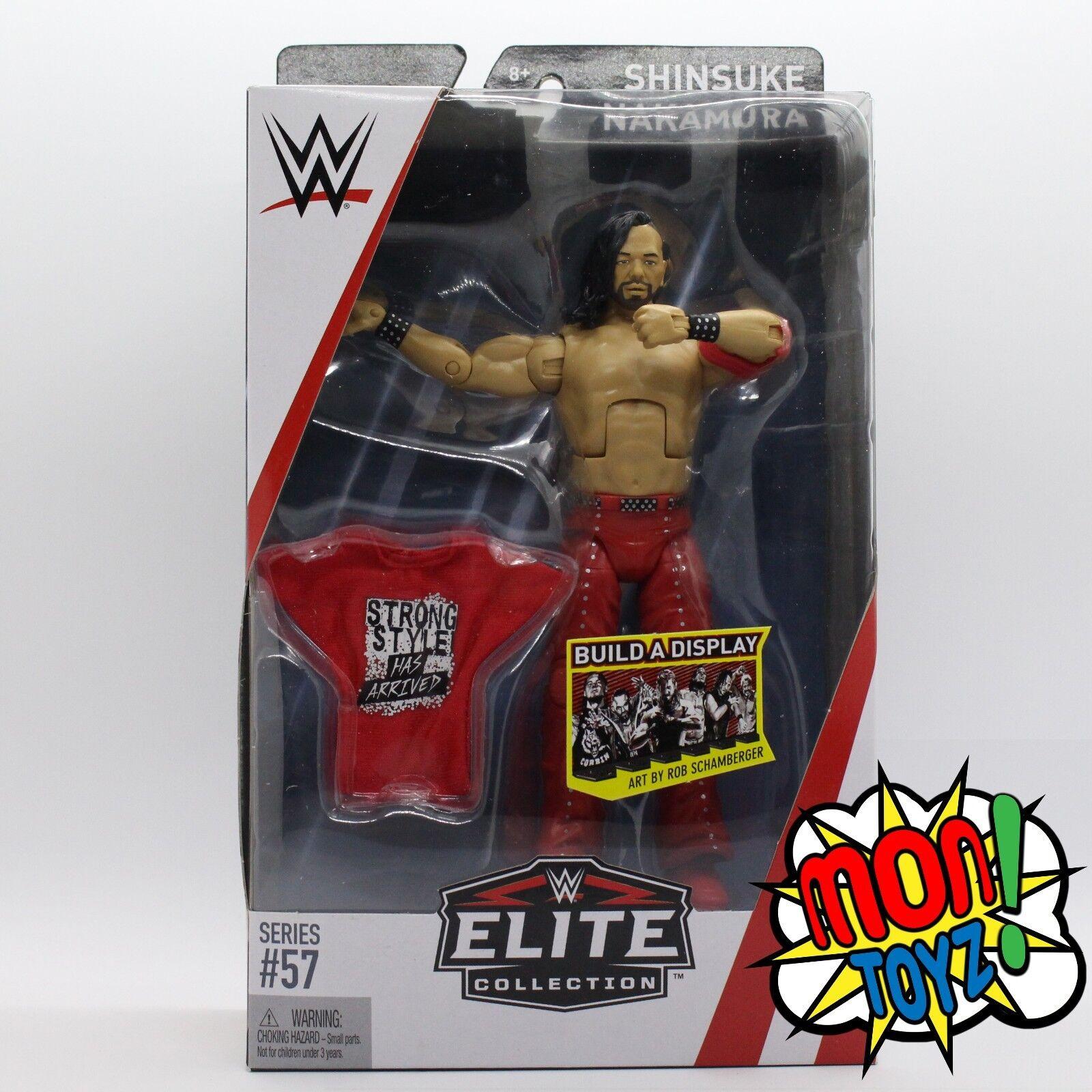 Shinsuke Nakamura WWE Mattel Elite Series 57 Action Figure NEW HTF