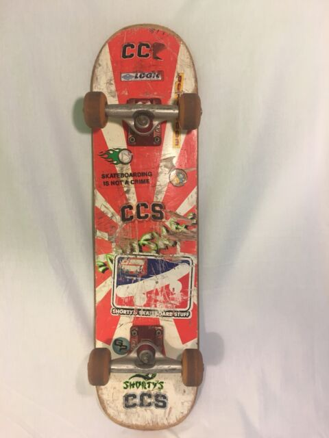 1 Shorty´s SKATE sk8 Vintage RARE Ghetto Child Wheels Patch Chad Muska 90s
