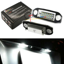 2PC CAN-bus White 18-SMD LED License Plate Lights For Volvo C30 S40 S60 CX60 C70