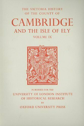A History of the County of Cambridge and the Is, Wright, Lewis+=