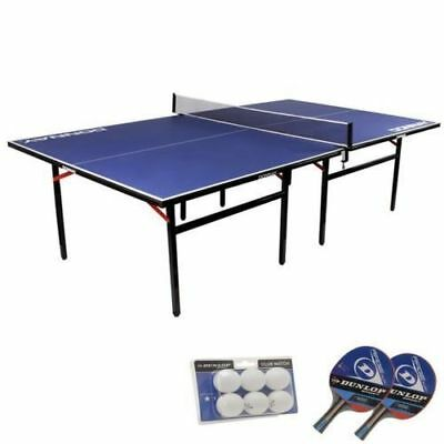 9ft Ping Pong Table Free Bats /& Balls Indoor Compact Folding Table Tennis Table