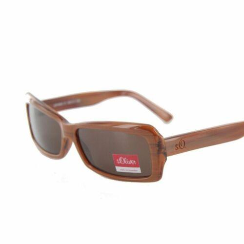 s.oliver Sonnenbrille 4202 C1 brown Etui NEU