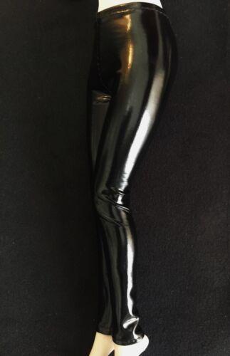 "1//6th Custom Black PU Leather Pants Model For 12/"" PH hotstuf UD Female Body Doll"