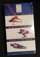 Lillehammer Winter Olympics 1994 Highlights Vhs Video Sealed Cbs Free Ship