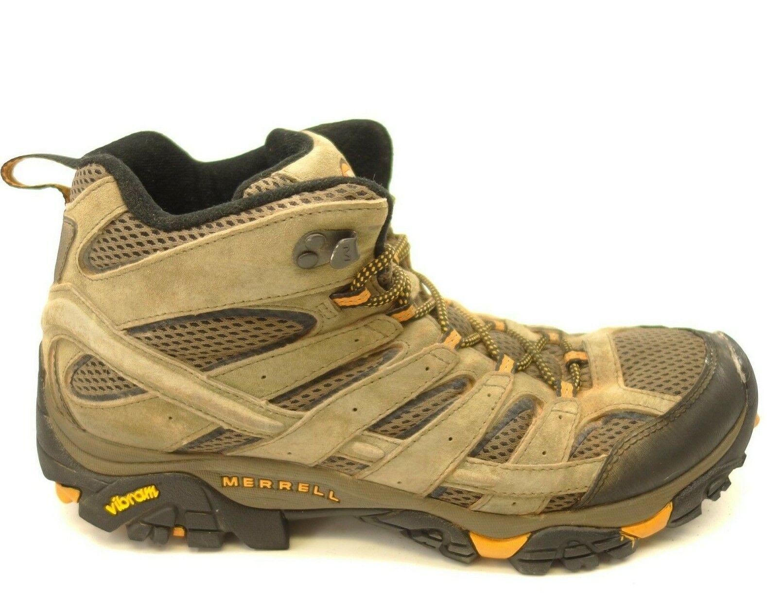 Merrell Moab 2 US 10.5 Marrón Vibram para senderismo y zapatos botas para hombre