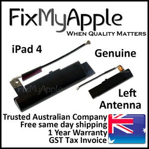 Details about iPad 4 Genuine Left Cellular LTE GSM Antenna Signal Flex  Cable New Replacement