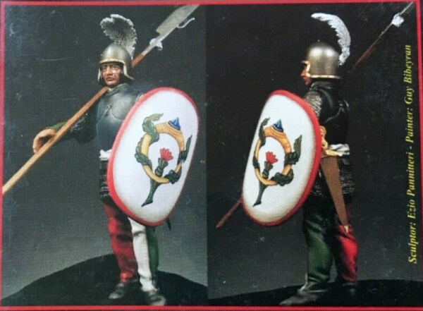 "Simbolo Del Marchio Emi Warlord 54mm Metal Kit ""guardia Corpo Ducale - Ferrara 1482"" No Box! War-53"